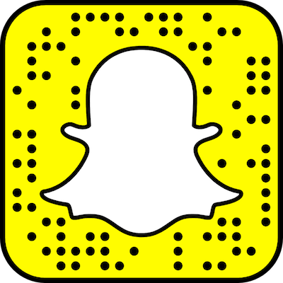 Image of our SnapChat code