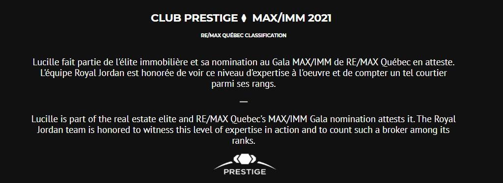 Club prestige