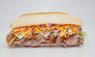 Big Star Sandwich Roast Beef,Bacon,Habanero Jack