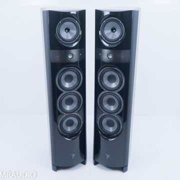 Electra 1038 Be Floorstanding Speakers; Ebony Pair