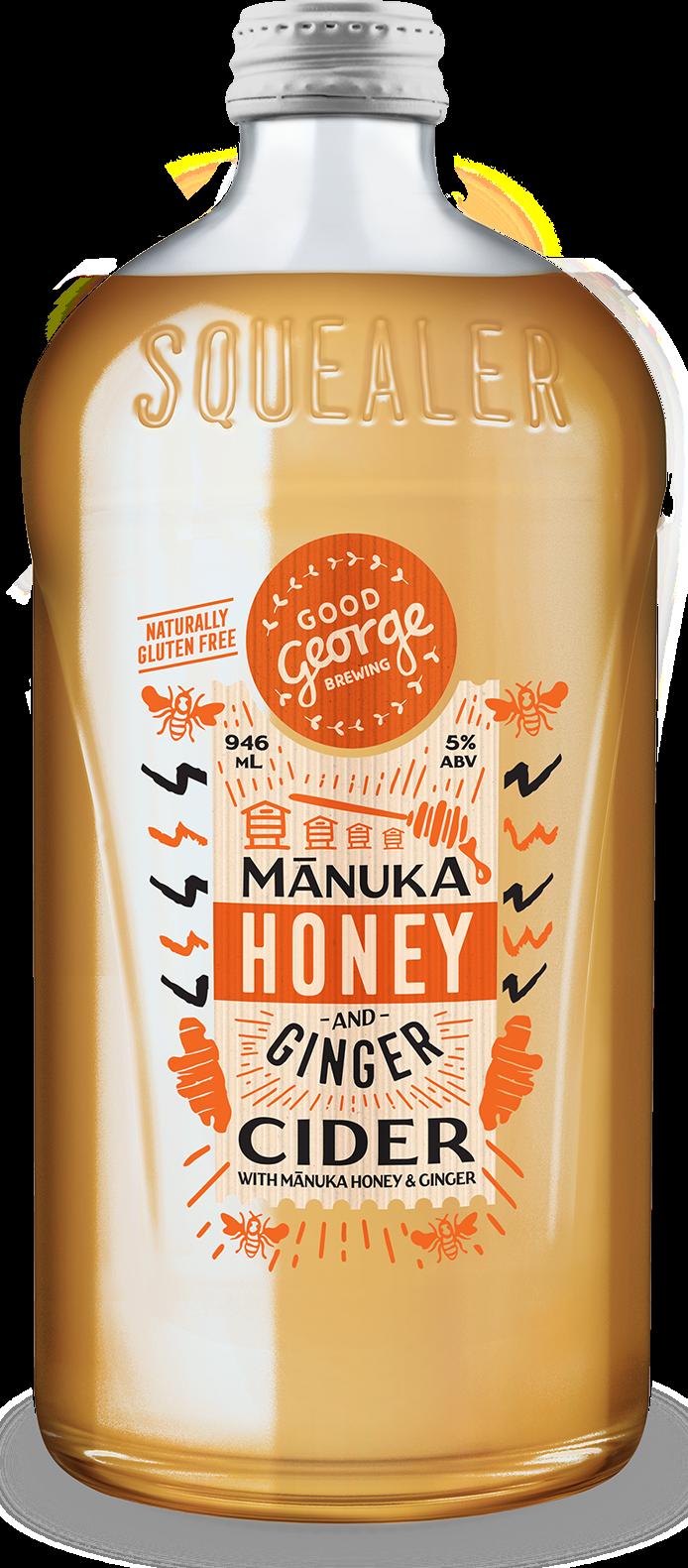 Good George Manuka Honey and Ginger Cider Squealer