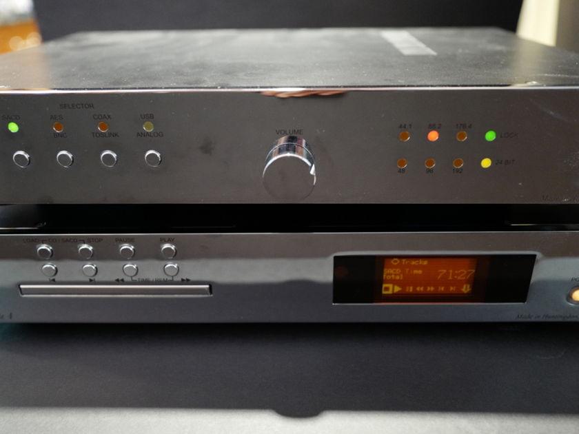 EAR  Yoshino Ltd. Acute 4 SACD/CD Player + Acute 4 DAC Chrome