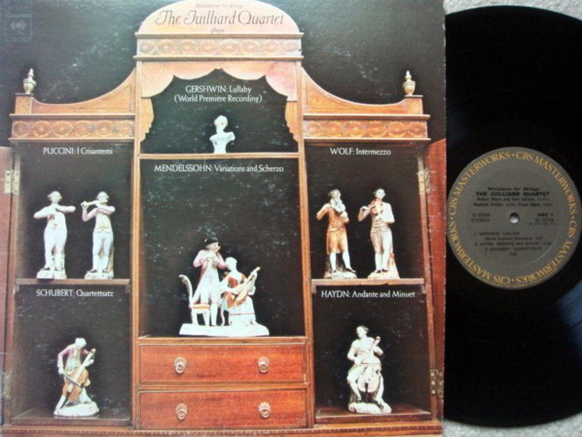 Columbia / JUILLIARD QT, - Miniatures for Strings, NM-!