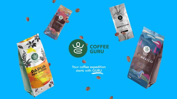 Coffee Guru – coffee packaging design