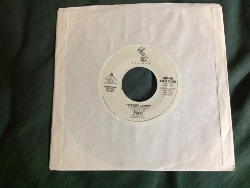 Poco - Crazy Love Promo Mono Stereo 45 NM