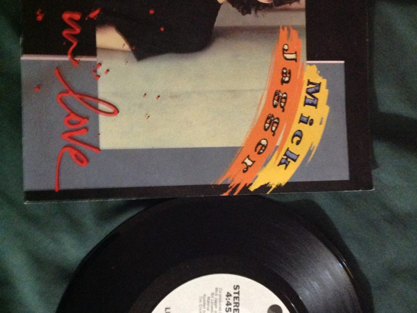 Mick Jagger - Lucky In Love 45 With Sleeve