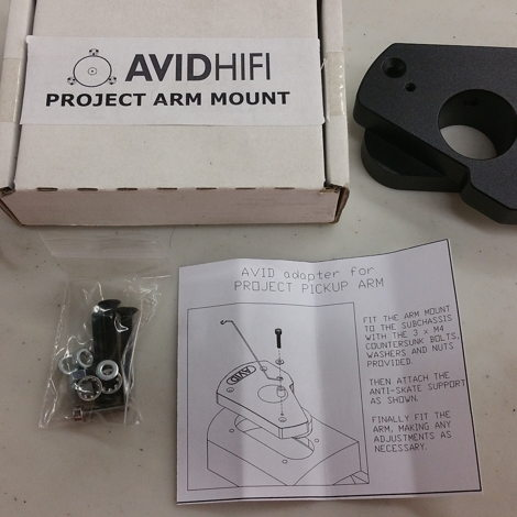 Avid mounting kit