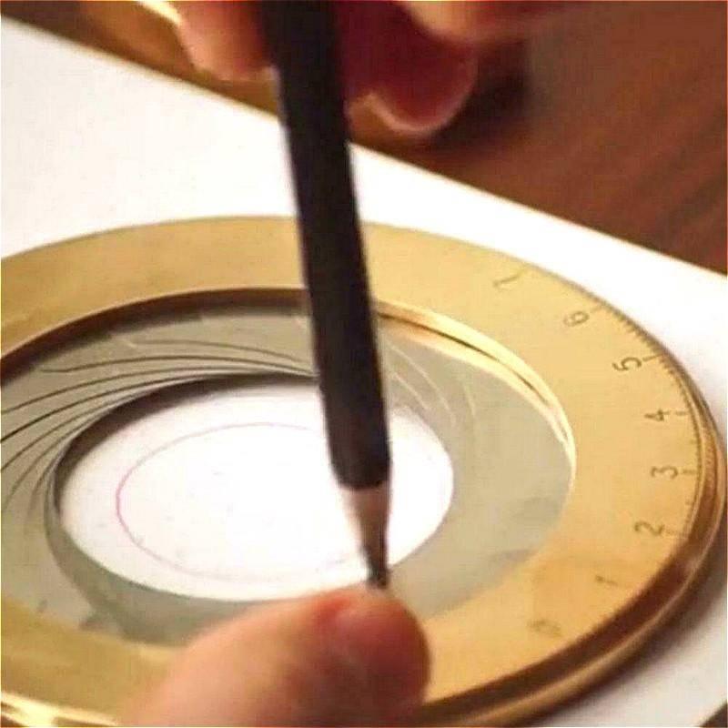 circular drawing tool