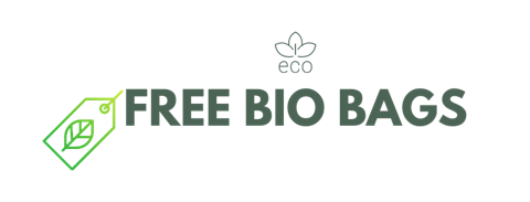 Free bio nappy bags with every eco nappy purchase of larger sizes. Offer valid until stock lasts.