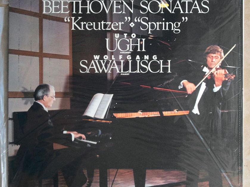 SEALED RCA Digital   UGHI/SAWALLISCH/BEETHOVEN - Sonatas Kreutzer & Spring