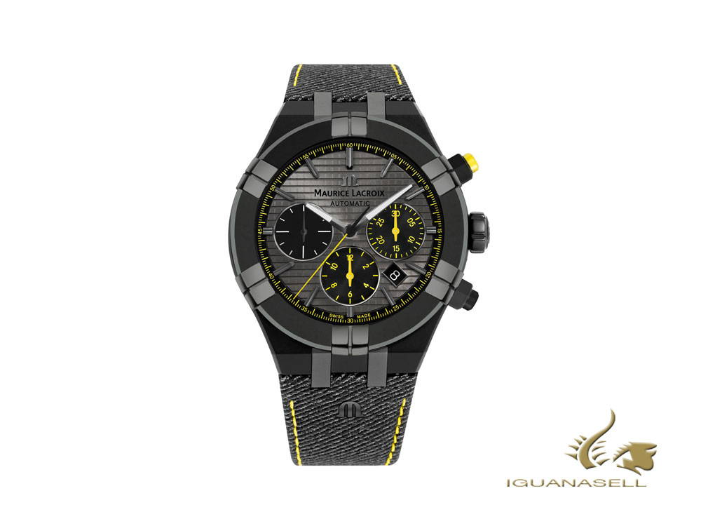 Maurice Lacroix Aikon automatic watch, anthracite, limited edition