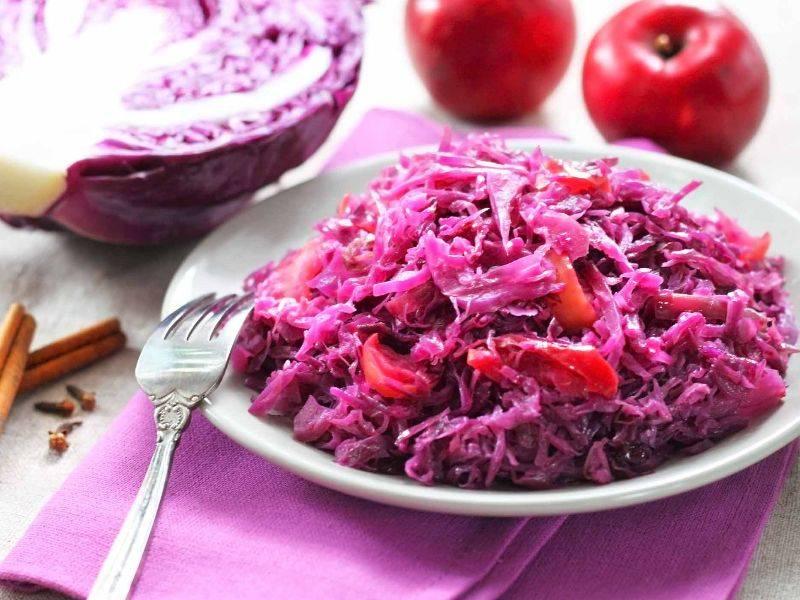 salade de chou rouge la boite du chef