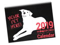 Your Pet on the Cover of Our 2019 Calendar