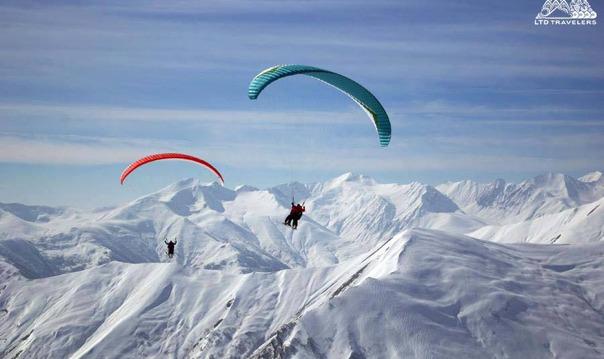 Гудаури — Ананури — горнолыжный курорт