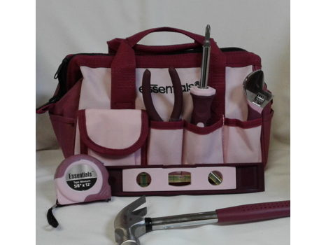 Tool Set with Zip Up Case
