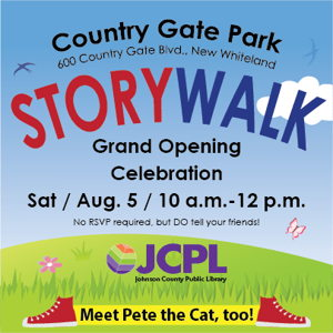 Image for Celebrate the New StoryWalk at Country Gate Park