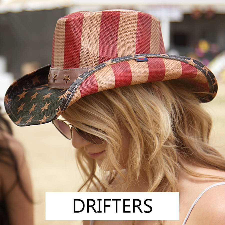 Women's drifters for your next rodeo or outdoor adventure.