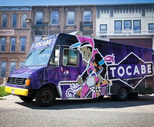 Vinyl Vehicle Wraps - Tocabe Food Truck Wrap