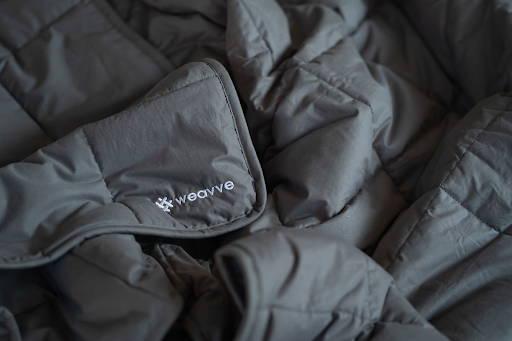 Featuring Weavve's weighted blanket