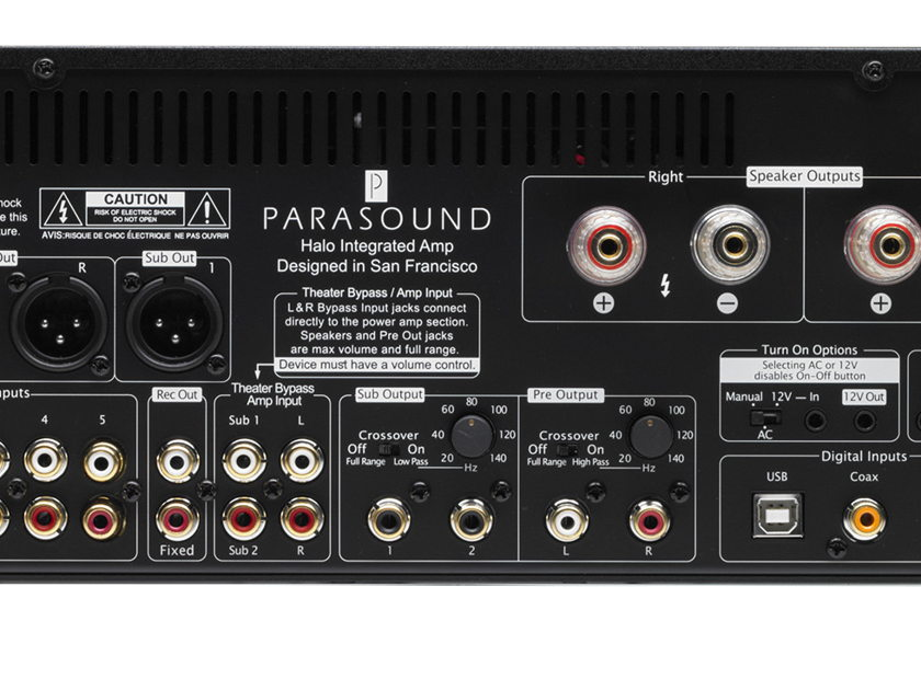 Parasound Halo Integrated  Silver - Awesome performance!