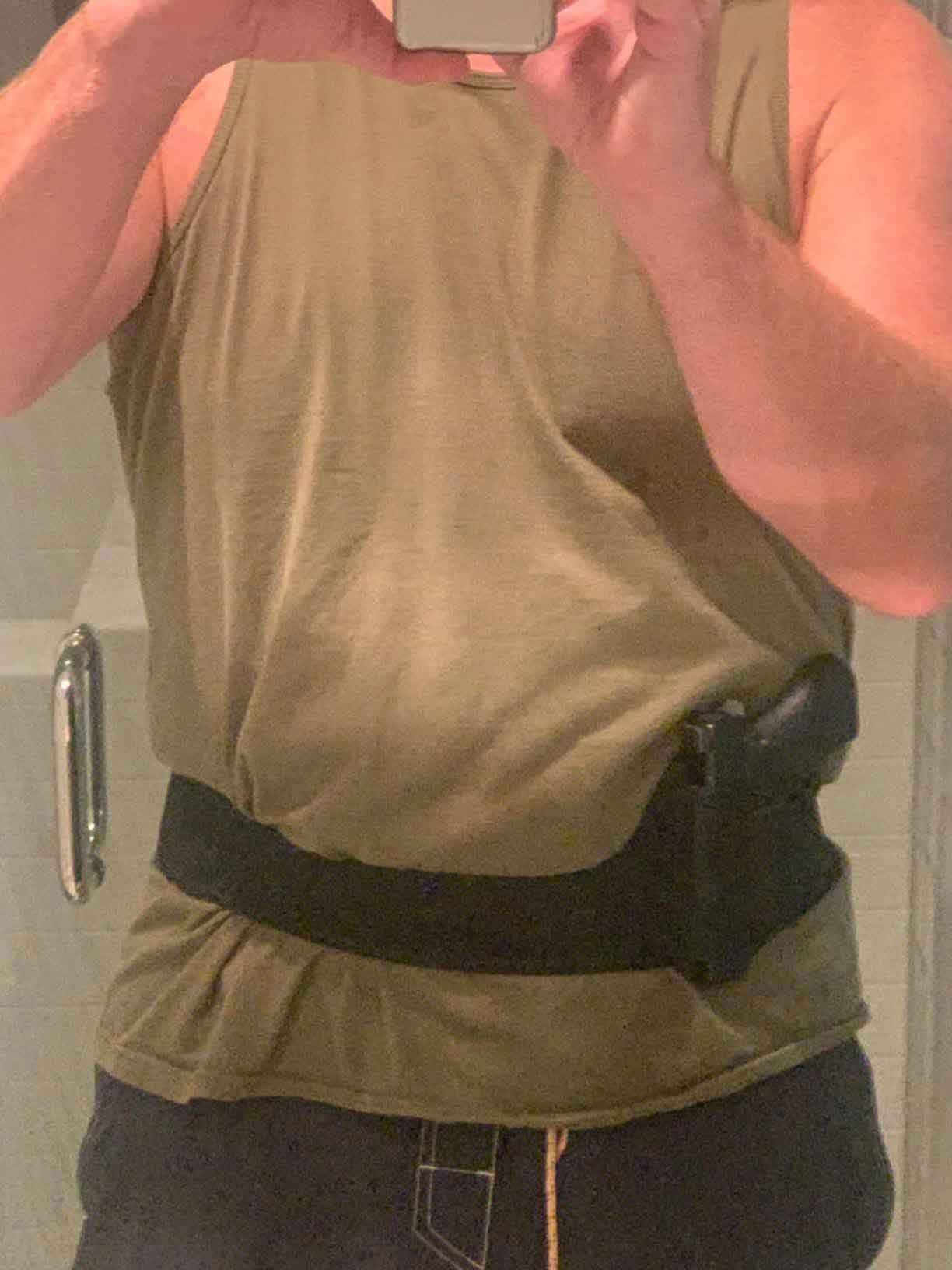 Dinosaurized | Praetorian shoulder & Belly holster |  100% concealed | Best holster for seated draw | 100% comfort | no smell | easy to use | Best holster for police officers | Best shoulder holster for farmers | Best shoulder holster for fathers | Best shoulder holster for dads | Best shoulder holster for ladies | Best shoulder holster for car owners | Best shoulder holster for Uber driver| Best shoulder holsters | police shoulder holster||shoulder holster revolver | shoulder holster for revolver | shoulder holster for concealed carry | shoulder gun holster | Best holster for drivers | best women's shoulder holster | shoulder holster concealed carry | shoulder carry holster