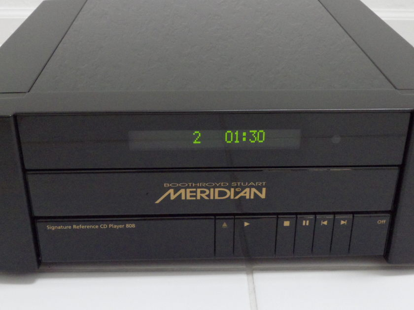Meridian 808 Signature Reference CD Player