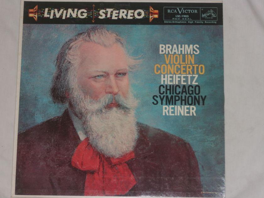 Heifetz Reiner - Brahms Violin Concerto RCA Victor LSC-1903
