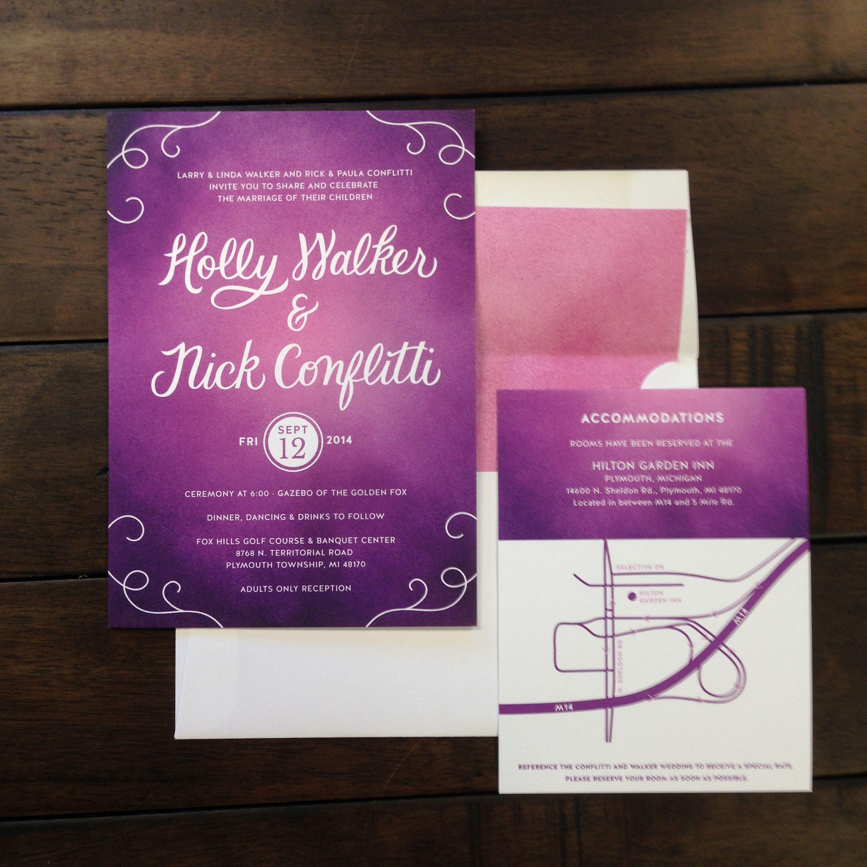 WEDDING INVITATIONS   Rock Paper Scissors