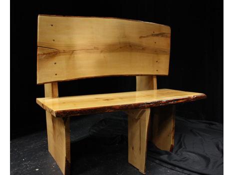 Handmade Maple Love Seat