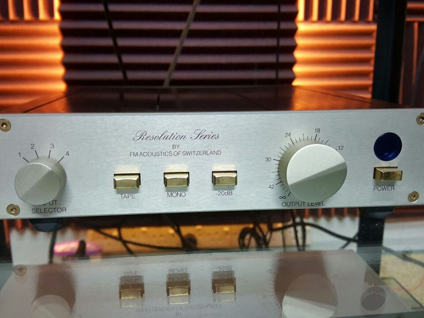 FM Acoustics  Resolution Series 155 Preamp WORLDWIDE FREE SHIPPING!