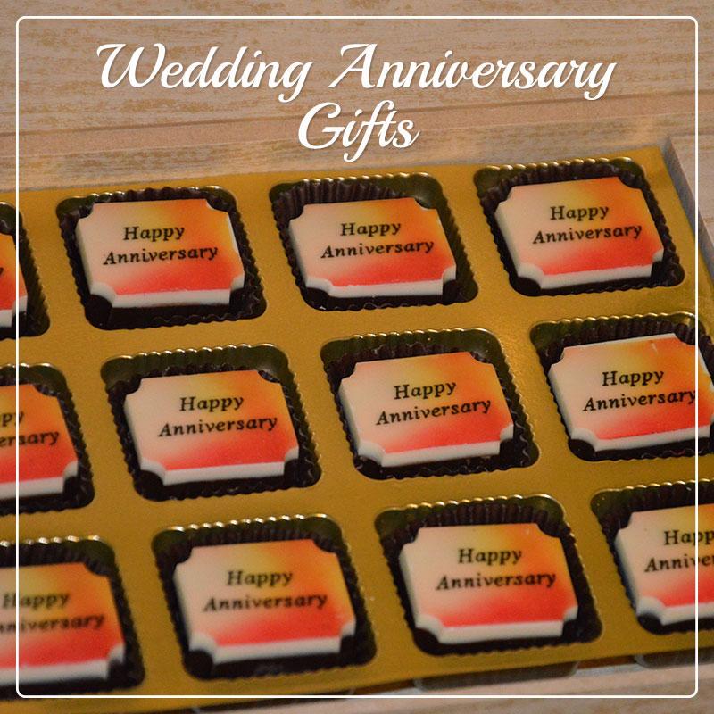 Anniversary gifts on Chocolates