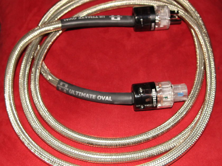 Analysis Plus Inc. Ultimate Power Oval 10' Ref Power Cord !