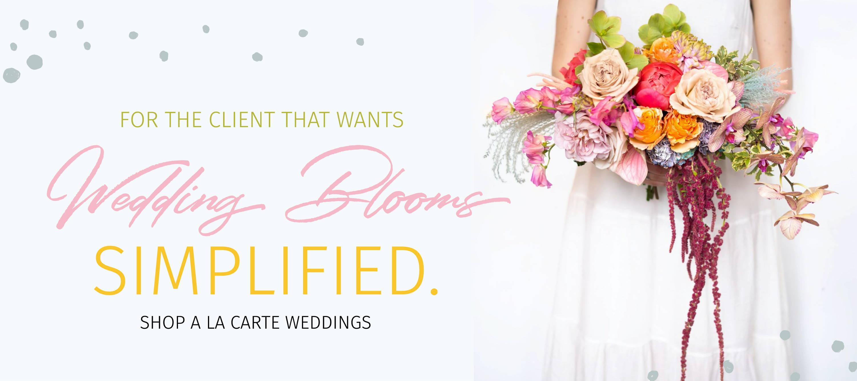 Wedding Blooms Simplified order wedding flowers online
