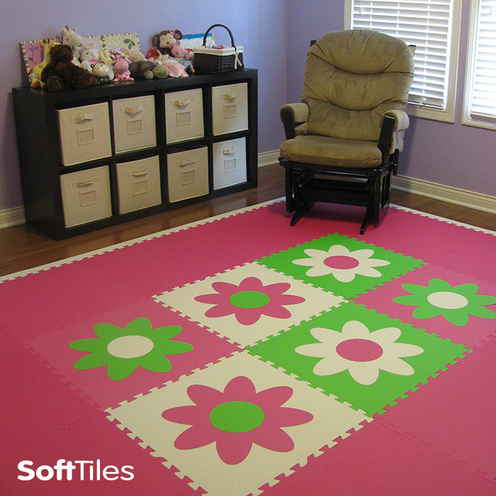 Foam Floor Mats For Babies Baby Cushioned Play Mat