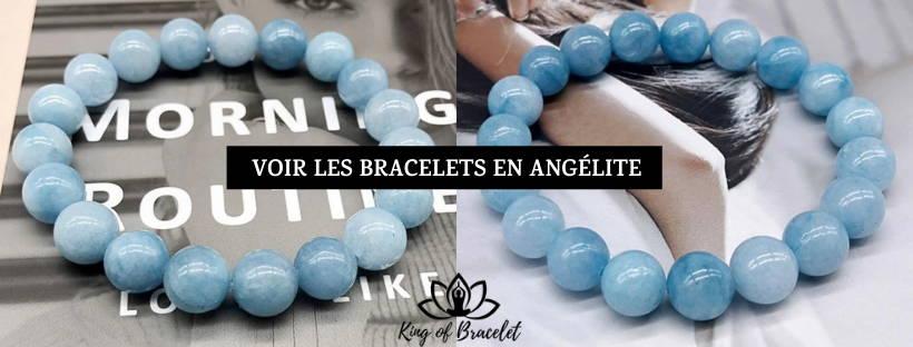 Bijou Bracelet en Angélite - King of Bracelet