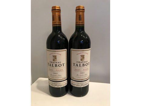 Chateau Talbot: 2003 Vintage Bordeaux