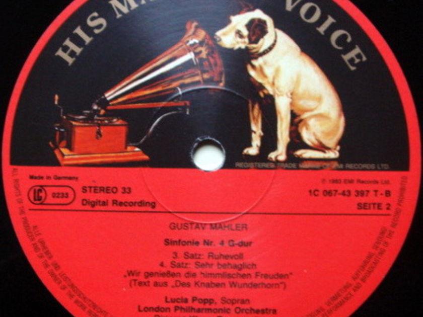 EMI ASD SEMI-CIRCLE / TENNSTEDT, - Mahler Symphony No.4, NM!