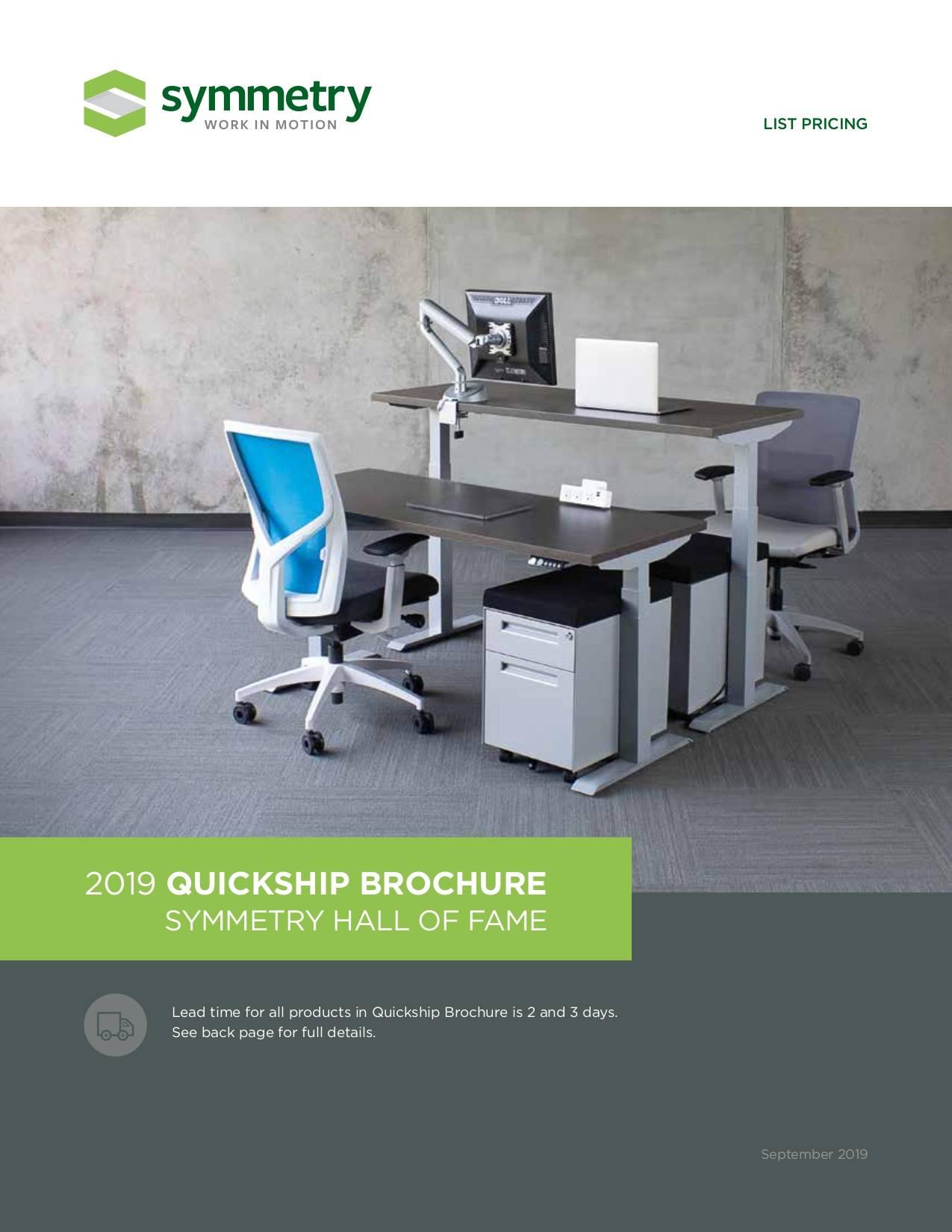 Symmetry Furniture Quickship Brochure