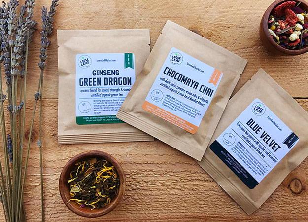 loose leaf tea sampler
