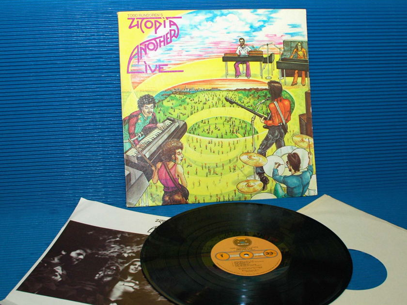 "UTOPIA / TODD RUNDGREN   - ""Another Live"" - Bearsville 1975 early pressing"