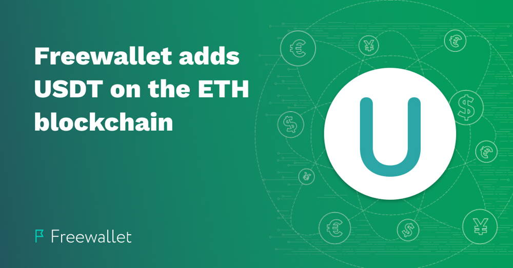 Freewallet adds  USDT on the ETH blockchain