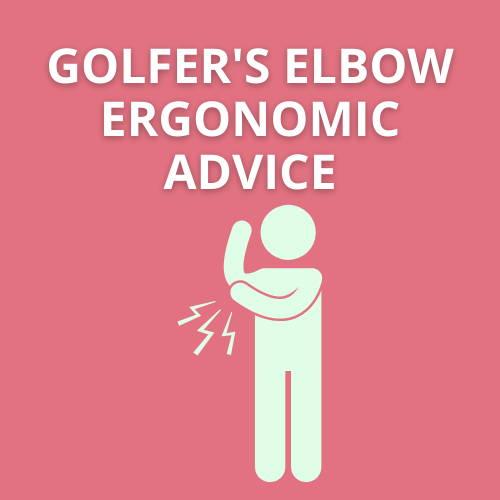De Quervain's Tenosynovitis ergonomics advice