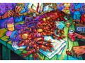 "Terrence Osborne ""Crawfish Berl"" Signed Print"