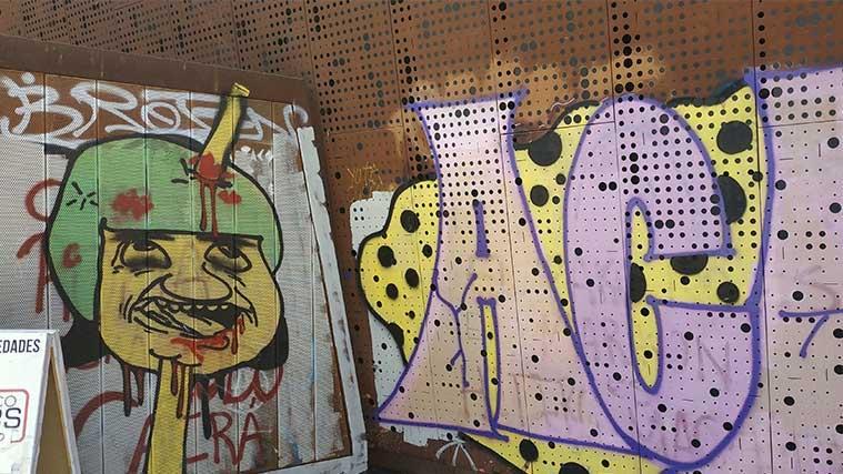 how to remove graffiti from corten steel