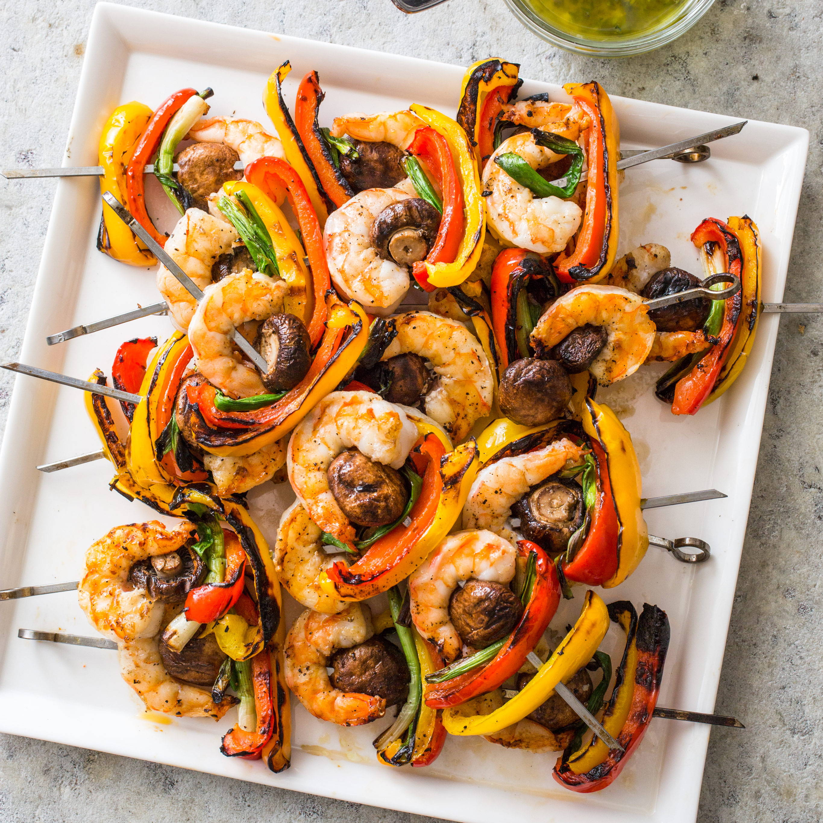 Grilled Skewers BBQ Recipe