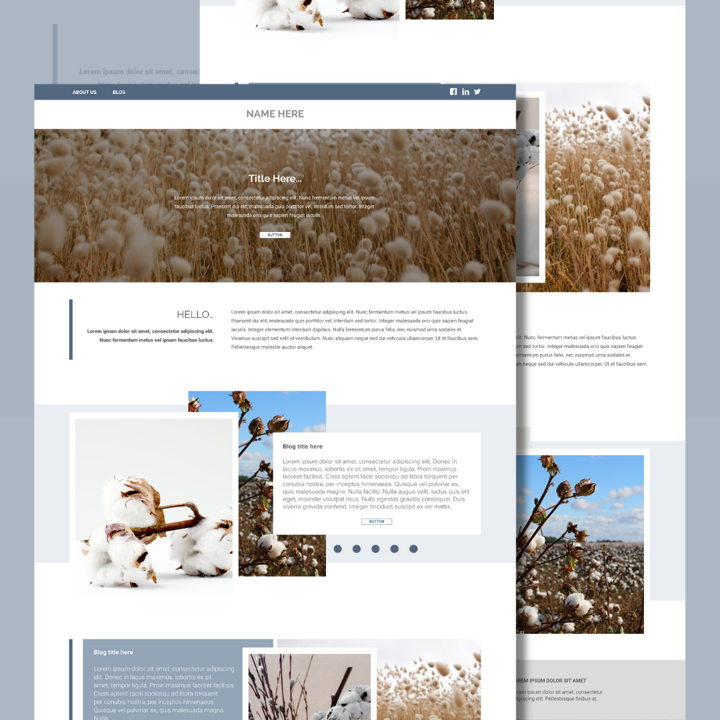Cotton template's featured image