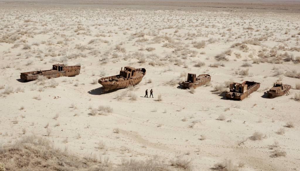 mer Aral lac salé assèchement