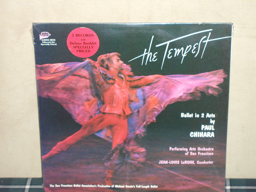 """La Roux/PAOoSF - Chihara """"The Tempest"""" SEALED Full 2 Lp perfomance on MMG"""