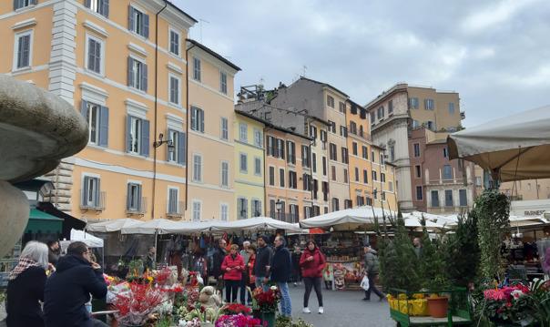 Вкусный тур по Риму