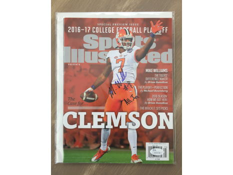 Mike Williams Autographed Sports Illustrated